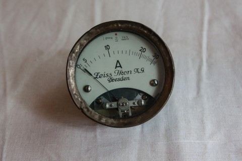 Amperemeter Zeiss Ikon A.G.