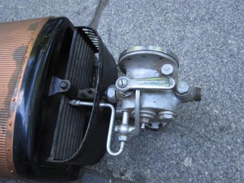 Gasventil und Brenner, Junkers Gastherme Durchlauferhitzer WA 32