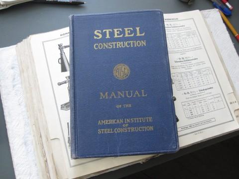 Fachbuch Steel Construction 1948 Einband