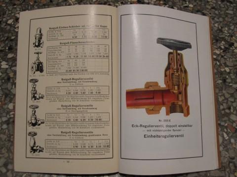 Eckregulierventil 1931 C.E.Winzer Wittenberg