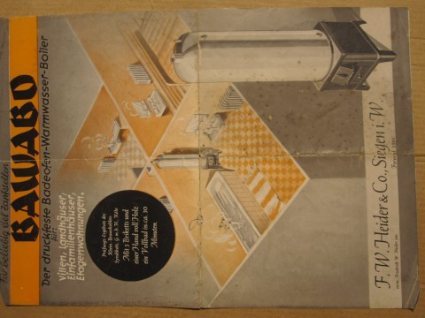 Bawabo Druckfeste Speicher Werbeschrift Deckblatt
