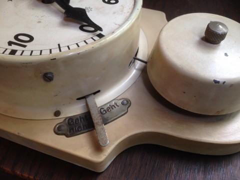Junghans Kurzzeitmesser um 1920/30 Laufzeit Schalthebel