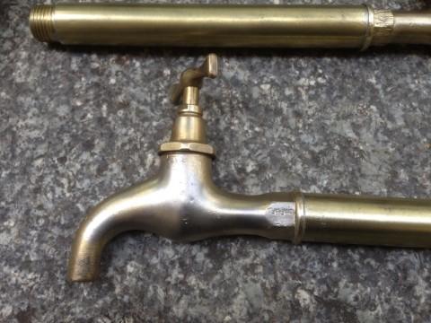 Waschtisch Reihenspültisch Auslaufhähne 28cm Form 1930