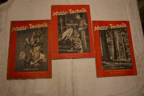 Zeitschriften Band Natur und Technik Jahrgang 1947