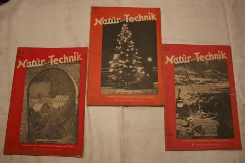 Zeitschriften Band Natur und Technik 1947_3