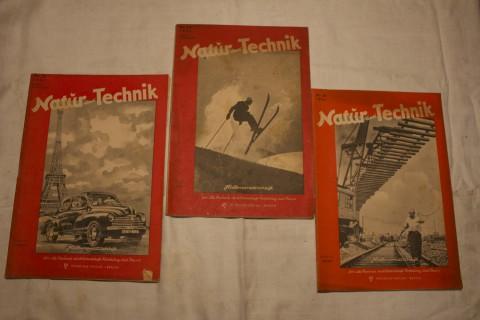 Zeitschriften Band Natur und Technik 1947_4