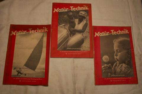 Zeitschriften Band Natur und Technik 1947_5