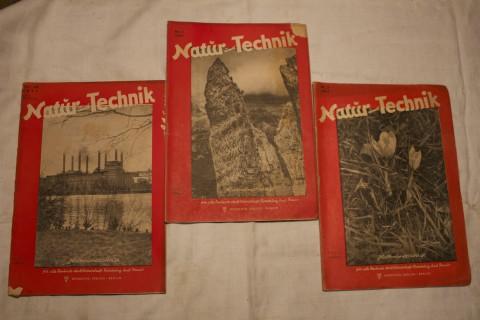 Natur und Technik Jahrgang 1947 Titelseite
