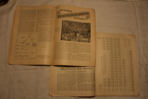 Natur und Technik Jahrgang 1947 Doppelseite