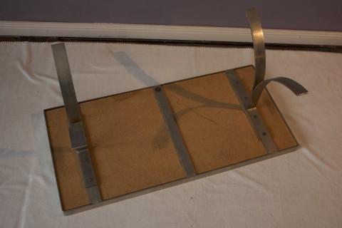 Tisch mit Fliesenauflage um 1970 - 37/41/86 Befestigung
