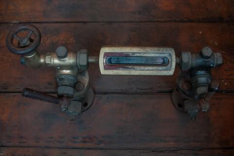 Kessel-Wasserstands-Anzeige um 1900