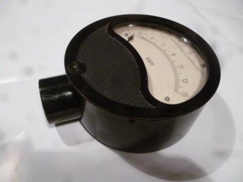Draufsicht Amperemeter