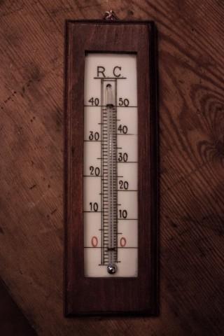Zimmerthermometer aus Holz