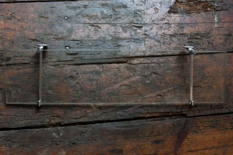 Wandablage aus Glas
