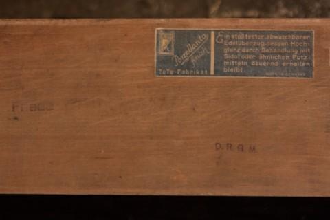 Handtuchhalter mit Haken aus Holz Siegel