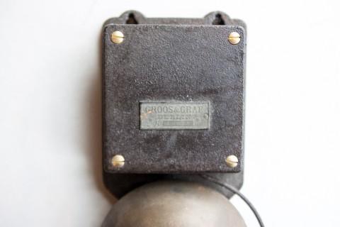 Glocke, Elektrischer Signalgeber, von Groos & Graf Detail