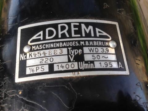 Elektromotor ADREMA Berlin 220V 50Hz WD3,9
