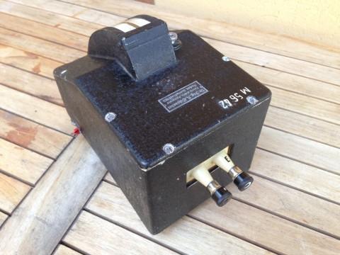 Standmessapparatur Voltmeter Dr.Ing.R.Schroeder Anschlußseite