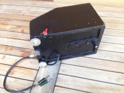 Standmessapparatur Voltmeter Dr.Ing.R.Schroeder Bodenansicht
