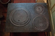 Herdplatte für Kochmaschinen