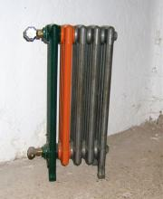 Radiator Heizkörper gußeisen NRG um 1920/30
