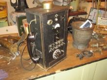 Telefon Stellle aus Polizeistation um 1930 TN
