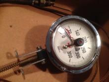 Motometer Industrie Thermometer mit Fernfühler bis 350′C