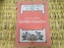 Produkt Information Heft,  Hollersche Carlshütte Rendsburg
