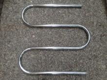 Heizkörper Rohrschlange messing verchromt 25mm  63/63