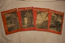 Zeitschriften Band Natur und Technik 1948_1