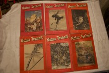 Zeitschriften Band Natur und Technik 1949_1