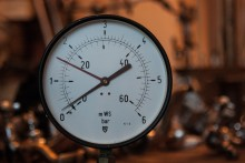 Manometer mit Meterwassersäule