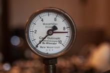 Manometer Meterwassersäule D.R.P.